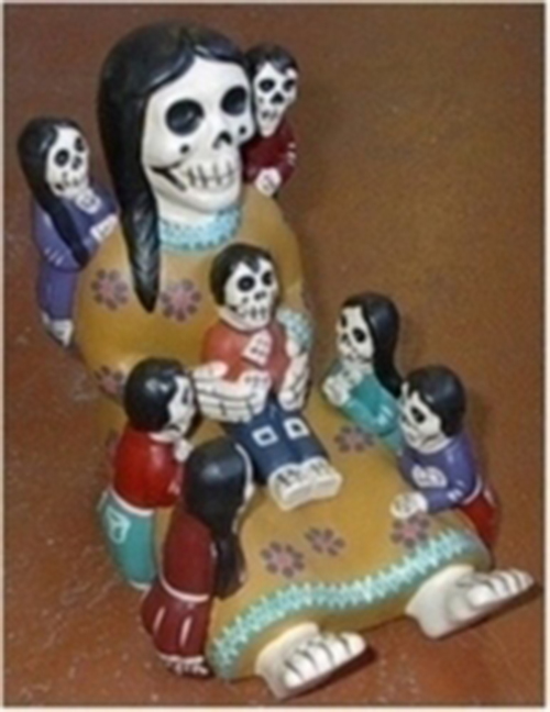 Day Of The Dead Storyteller Large Sueos Latin American Imports